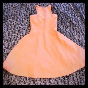 "Neon orange dress ""Elizabeth and James"""